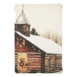 church and snow iPad mini covers