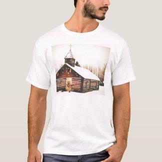 church and snow T-Shirt