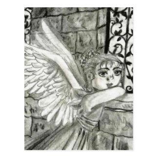Church Angel Postcard