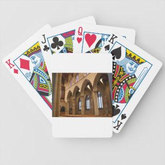 Church Archways Poker Deck