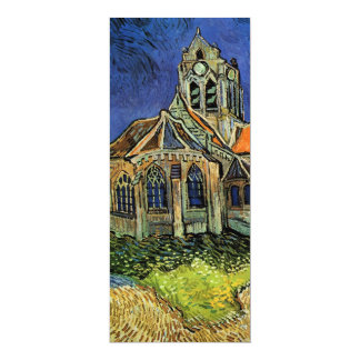 Church at Auvers by Vincent van Gogh, Wedding Card