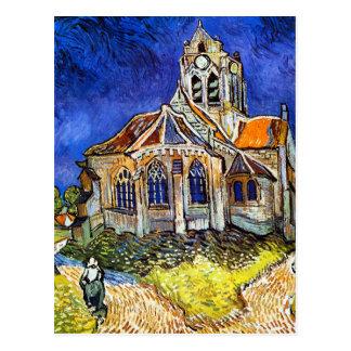Church at Auvers Postcard
