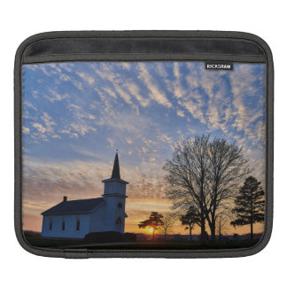 Church at Sunset iPad Sleeve