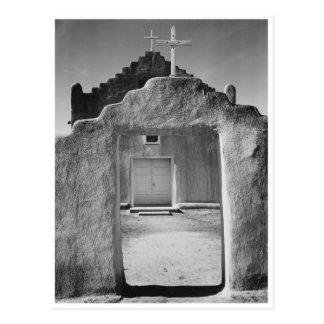 Church at Taos Pueblo National Historic Landmark Postcard