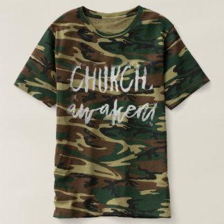 Church, Awaken! Men's Camo Shirt