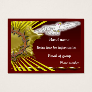 Church Band Business Card