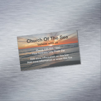 Church Believe Magnets