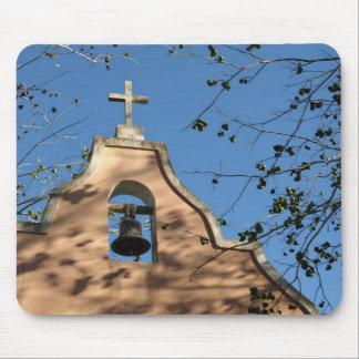 church bell tower mousepad