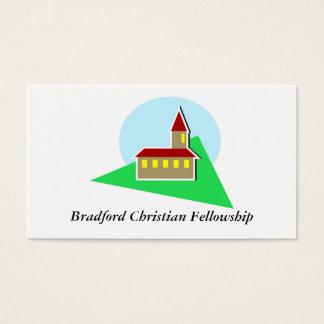 Church, Bradford Christian Fellowship Business Card