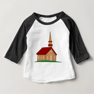 Church Cartoon Baby T-Shirt