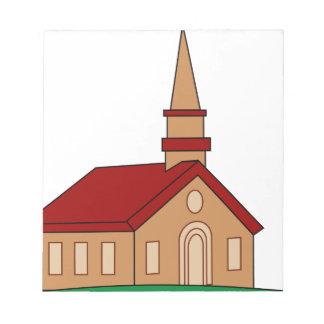 Church Cartoon Notepad