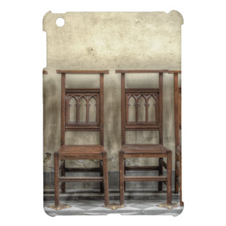 church chairs iPad mini case