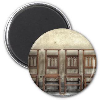 church chairs magnet