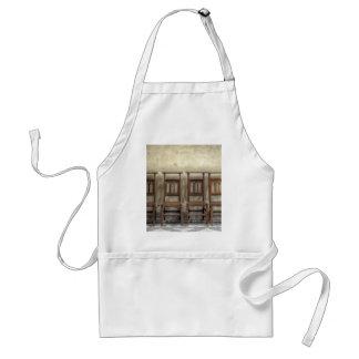 church chairs standard apron