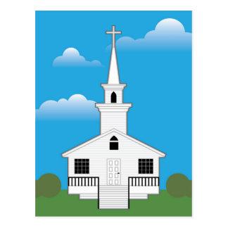 Church Color Postcard