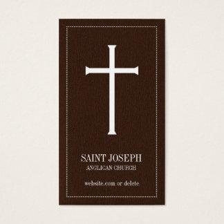 Church Cross Business Cards