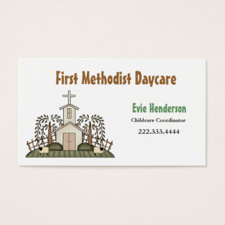 Church Daycare Business Card