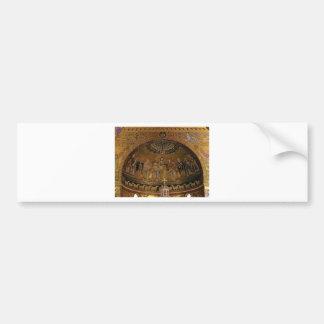 Church dome arch temple bumper sticker