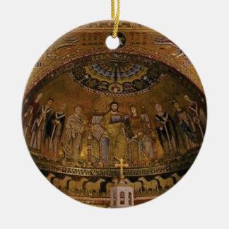 Church dome arch temple ceramic ornament