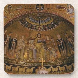 Church dome arch temple coaster