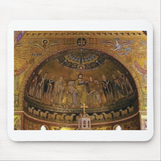 Church dome arch temple mouse pad