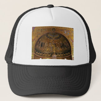 Church dome arch temple trucker hat