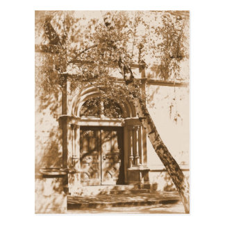 Church Door Postcard