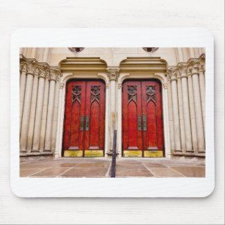 Church Doors Mouse Pad
