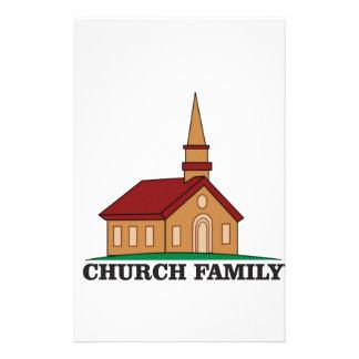church family stationery design