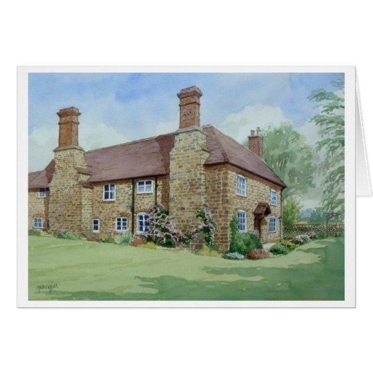 Church Farm, Ditton Priors. Card