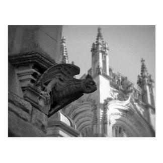 Church Gargoyle Postcard