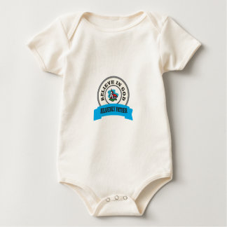 church god belief baby bodysuit