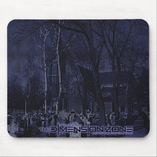 Church Graveyard Mouse Pad