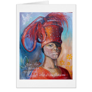 Church Hat Chloe Card
