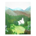 church in a valley custom letterhead