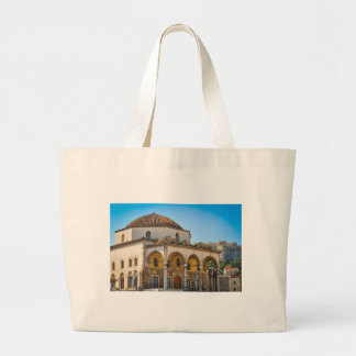 Church in Athens, Greece Large Tote Bag