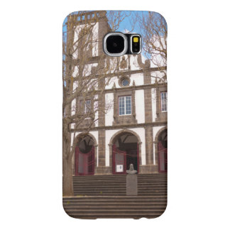 Church in Azores islands Samsung Galaxy S6 Cases