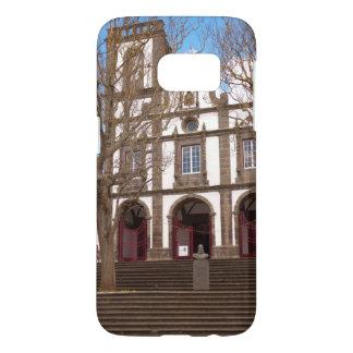 Church in Azores islands Samsung Galaxy S7 Case