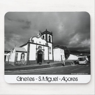 Church in Azores Mouse Pad