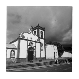 Church in Azores Tile