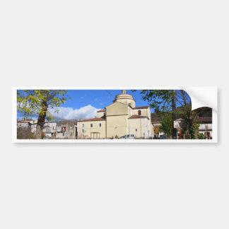 Church In Laino Borgo Bumper Sticker