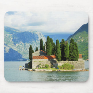 Church in Montenegro Mouse Pad