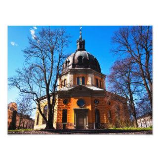 Church  in Sweden Art Photo
