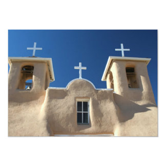 Church in Taos, New Mexico Card
