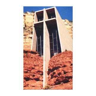 Church in the Rocks - Sedona Canvas Print