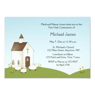 Church, Lambs Communion Invitation