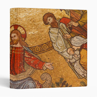 Church Mosaic - Jesus Christ Vinyl Binder