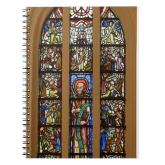 Church mosaic window notebook