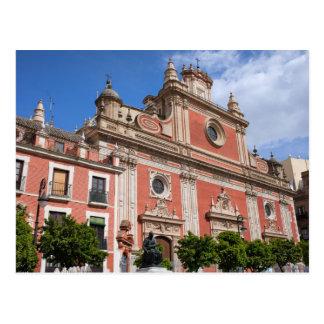 Church of El Salvador in Seville Postcard
