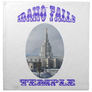 Church of Jesus Christ of Latter Day Saints Temple Napkin